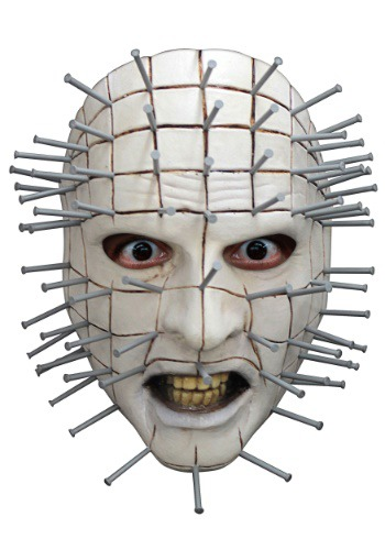 Hellraiser Pinhead Face Mask for Adults