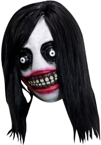 Click Here to buy Creepy Killer Mask for Adults from HalloweenCostumes, CDN Funds & Shipping