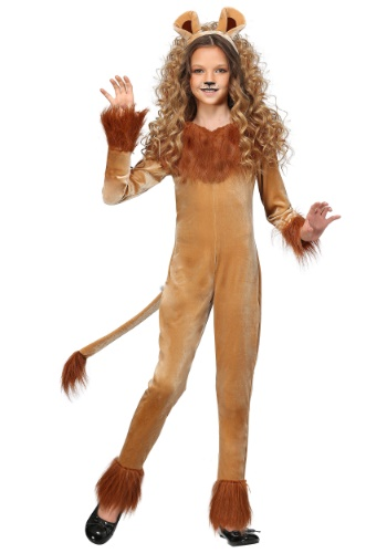 Fierce Lion Girls Costume