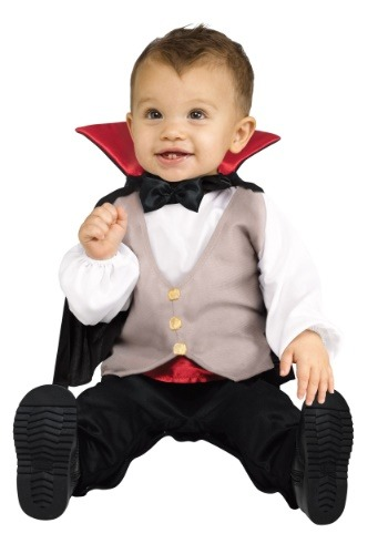 Click Here to buy Lil Drac Costume for Babys from HalloweenCostumes, CDN Funds & Shipping