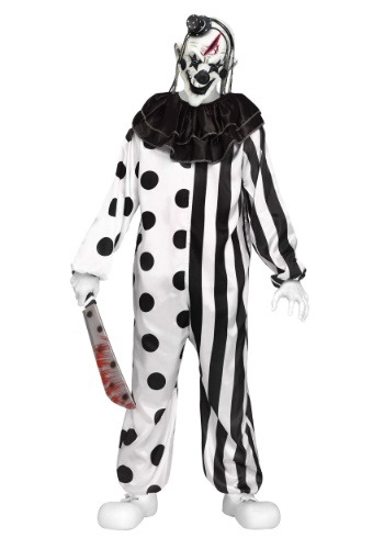 Click Here to buy Teen Killer Clown Costume | Scary Halloween Costume from HalloweenCostumes, CDN Funds & Shipping