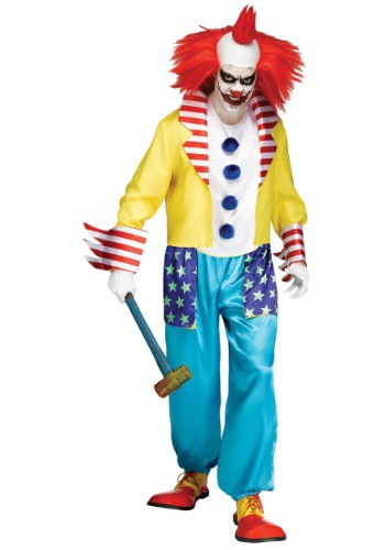 Click Here to buy Wicked Clown Master Mens Costume from HalloweenCostumes, CDN Funds & Shipping