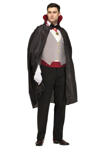 Complete Vampire Costume for Men