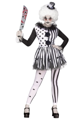 Click Here to buy Killer Clown Womens Costume from HalloweenCostumes, CDN Funds & Shipping