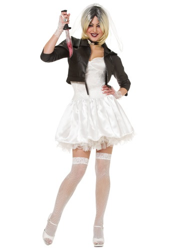 Bride of Chucky Costume | Chucky and Tiffany Halloween Costume