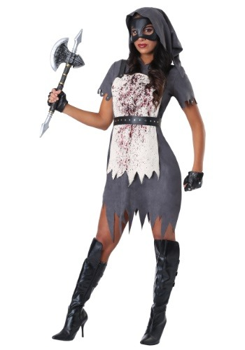 Click Here to buy Evil Executioner Womens Costume from HalloweenCostumes, CDN Funds & Shipping