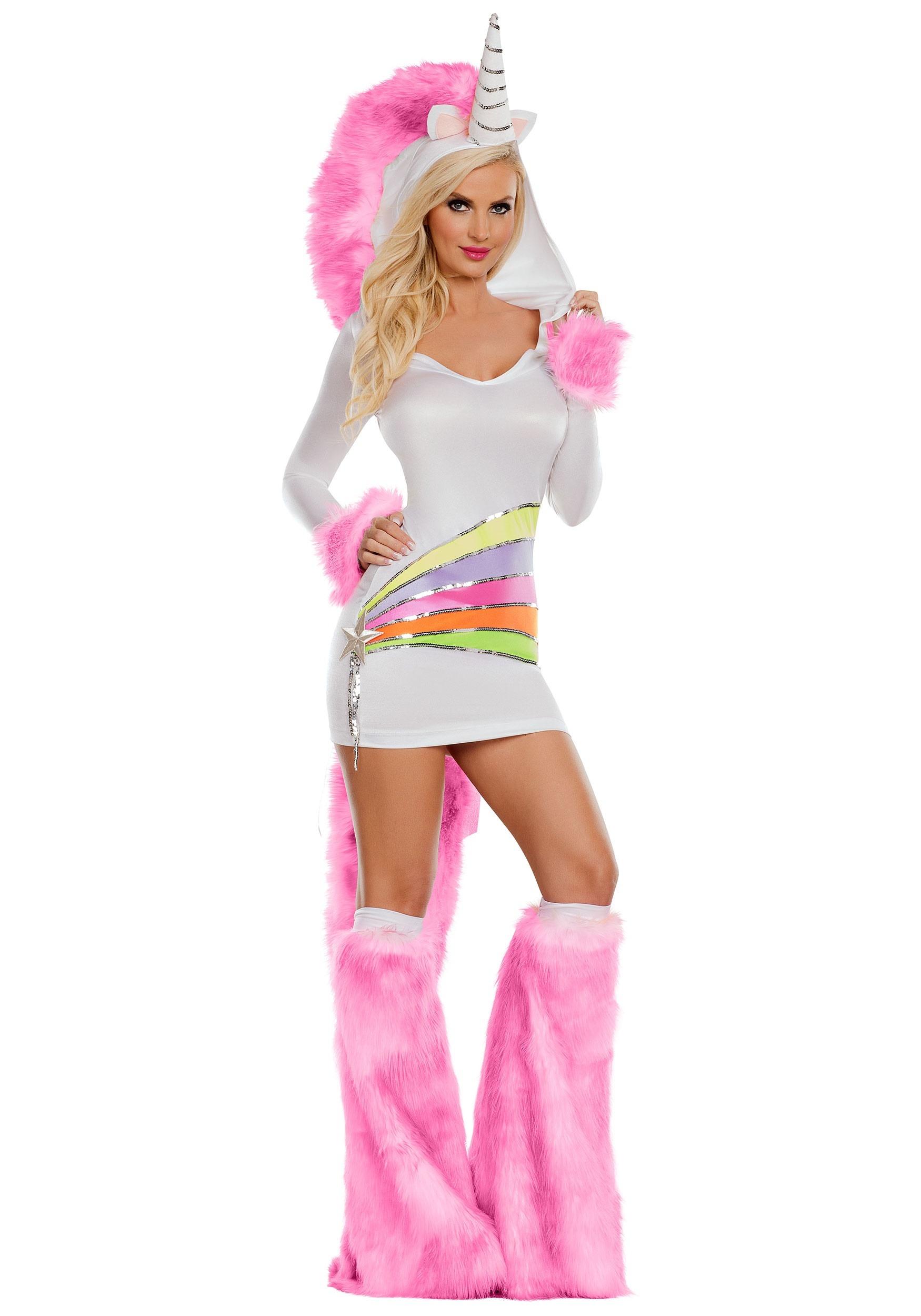 Rainbow Unicorn Women's Costume
