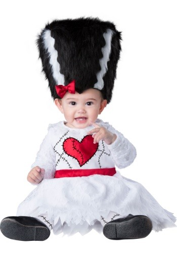 Click Here to buy Monster Bride Costume for Babys from HalloweenCostumes, CDN Funds & Shipping