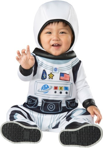 Click Here to buy Astronaut Tot Costume for Babys from HalloweenCostumes, CDN Funds & Shipping