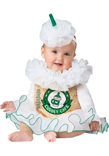 Click Here to buy Cuddly Cappuccino Costume for Babys from HalloweenCostumes, CDN Funds & Shipping