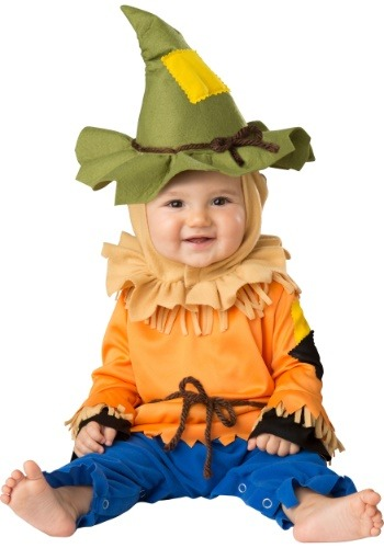Click Here to buy Scarecrow Costume for Babys from HalloweenCostumes, CDN Funds & Shipping