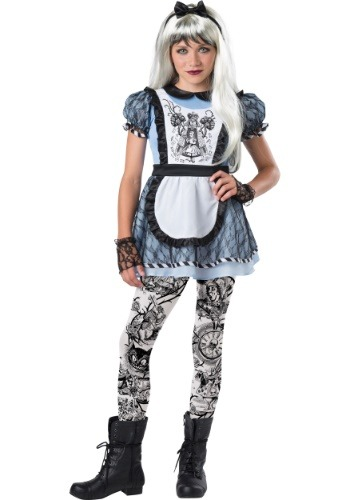 Tween Dark Alice Costume | Gothic Cosplay for Tweens
