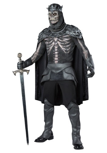 Click Here to buy Skeleton King Mens Costume from HalloweenCostumes, CDN Funds & Shipping