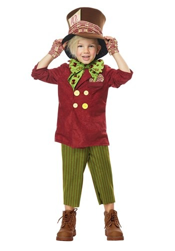 Lil Mad Hatter Costume for Toddlers