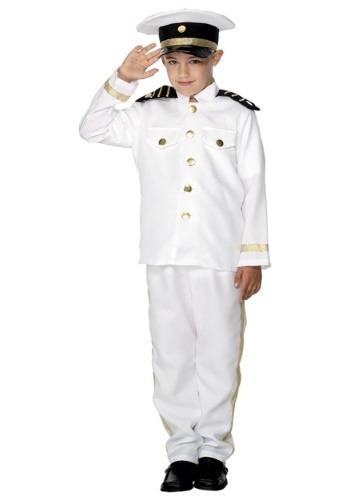 Click Here to buy Kids Captain Costume from HalloweenCostumes, CDN Funds & Shipping