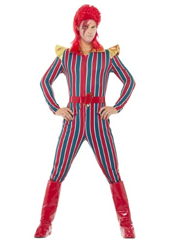 Men's 80's Space Superstar Costume