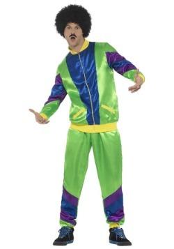 Men's 80's Tracksuit Costume
