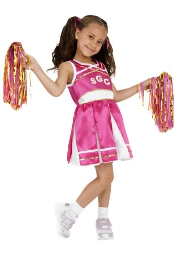 Click Here to buy Cheerleader Girls Costume from HalloweenCostumes, CDN Funds & Shipping