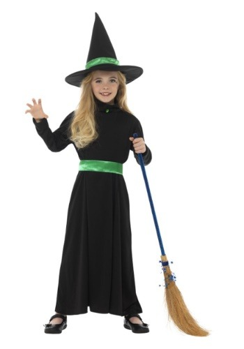 Basic Witch Costume for Girls