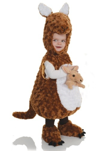Click Here to buy Kangaroo Bubble Toddler Costume from HalloweenCostumes, CDN Funds & Shipping
