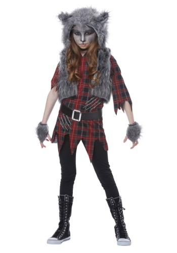 Click Here to buy Werewolf Girls Costume from HalloweenCostumes, CDN Funds & Shipping