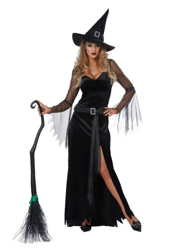 Click Here to buy Rich Witch Womens Costume from HalloweenCostumes, CDN Funds & Shipping
