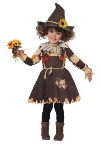 Click Here to buy Toddler Pumpkin Patch Scarecrow Costume from HalloweenCostumes, CDN Funds