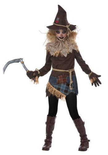 Creepy Scarecrow Costume for Girls