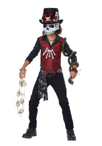 Click Here to buy Voodoo Hex Boys Costume from HalloweenCostumes, CDN Funds & Shipping