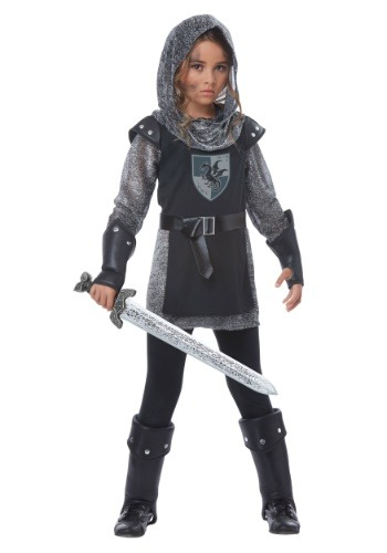 Noble Knight Costume for Girls