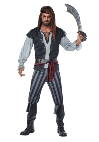 Click Here to buy Scallywag Pirate Mens Costume from HalloweenCostumes, CDN Funds & Shipping