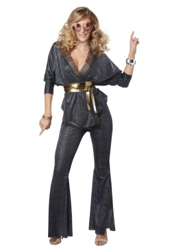 Click Here to buy Disco Dazzler Womens Costume from HalloweenCostumes, CDN Funds & Shipping