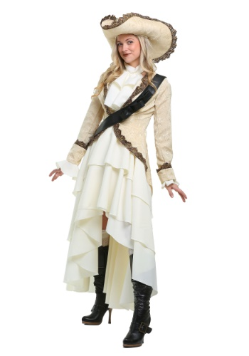 Click Here to buy Captivating Pirate Plus Size Womens Costume from HalloweenCostumes, CDN Funds & Shipping