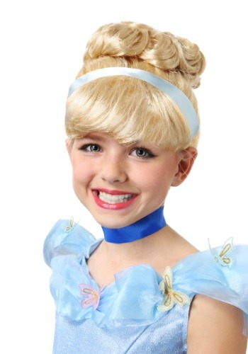 Click Here to buy Cinderella Wig for Girls from HalloweenCostumes, CDN Funds & Shipping