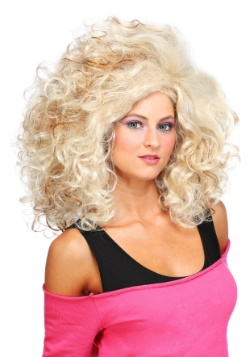 Women's 80's Glamour Wig