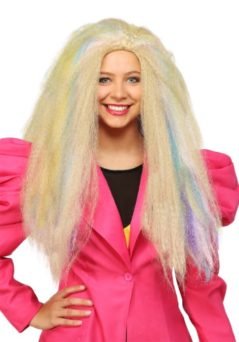 Click Here to buy 80s Crimped Womens Wig from HalloweenCostumes, CDN Funds & Shipping