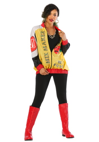 Womens Push It Pop Star Plus Size Costume