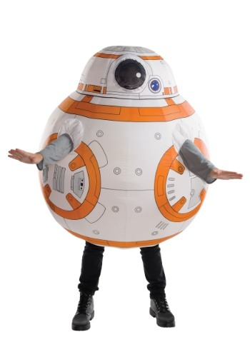 Click Here to buy Adult BB8 Inflatable Costume from HalloweenCostumes, CDN Funds & Shipping