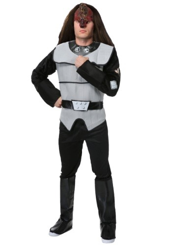 Click Here to buy Mens Deluxe Klingon Costume from Star Trek from HalloweenCostumes, CDN Funds & Shipping