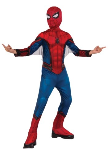 Click Here to buy Classic Spider-Man Kids Costume from HalloweenCostumes, CDN Funds & Shipping