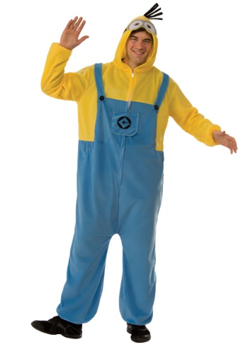 Minion Jumpsuit Adult Size Costume