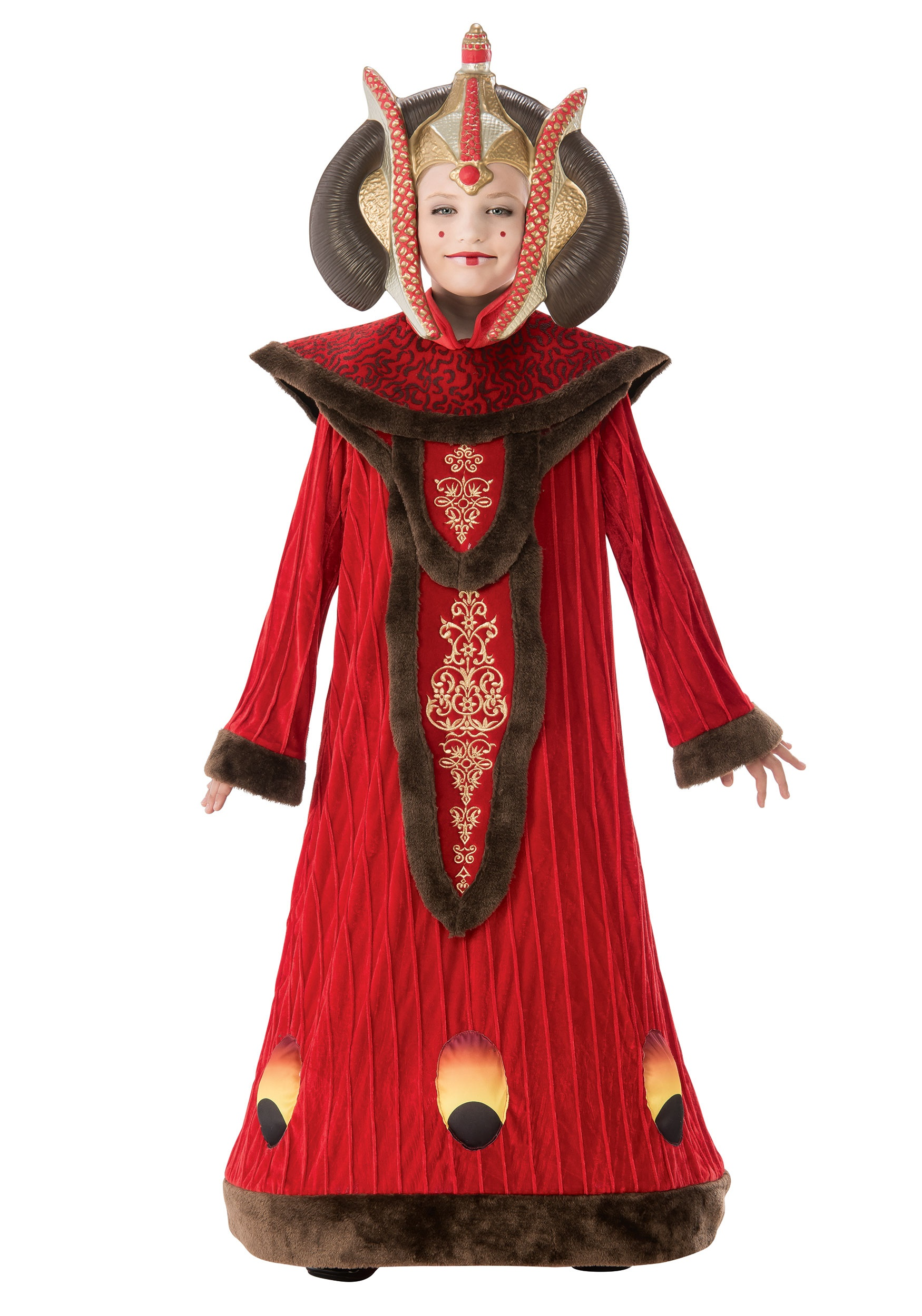 INOpets.com Anything for Pets Parents & Their Pets Star Wars Queen Amidala Costume for Girls