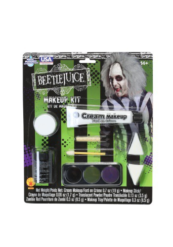 Click Here to buy Deluxe Beetlejuice Makeup Kit from HalloweenCostumes, CDN Funds & Shipping