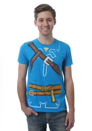 Legend of Zelda Breath of the Wild Mens Costume Tee