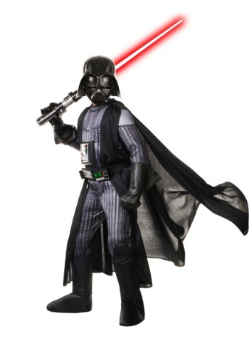 Star Wars Realistic Darth Vader Boys Costume