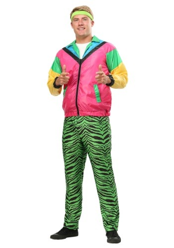 80s Jock Plus Size Costume for Men