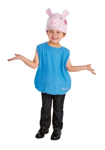 Click Here to buy Boys George Pig Costume from Peppa Pig from HalloweenCostumes, CDN Funds & Shipping