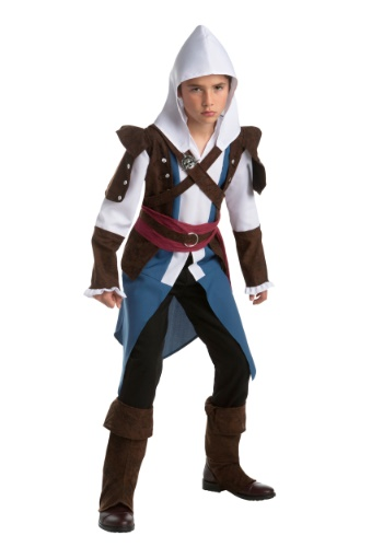 Click Here to buy Edward Kenway Kids Costume from Assassins Creed from HalloweenCostumes, CDN Funds & Shipping