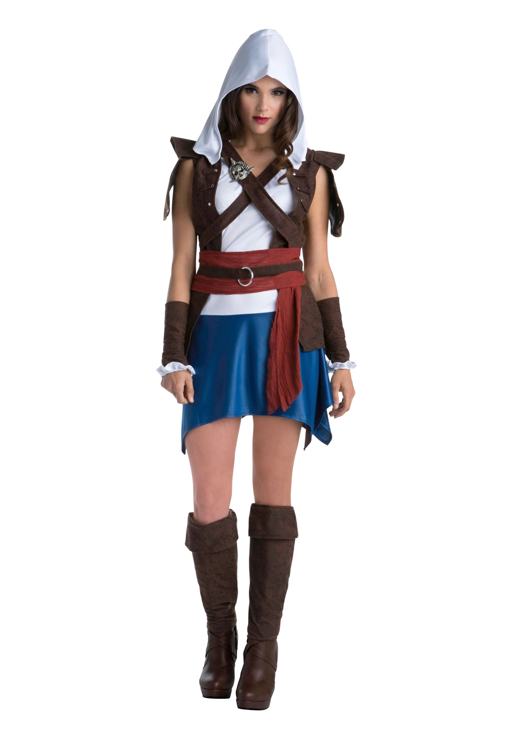 INOpets.com Anything for Pets Parents & Their Pets Assassins Creed Edward Kenway Classic Costume for Women
