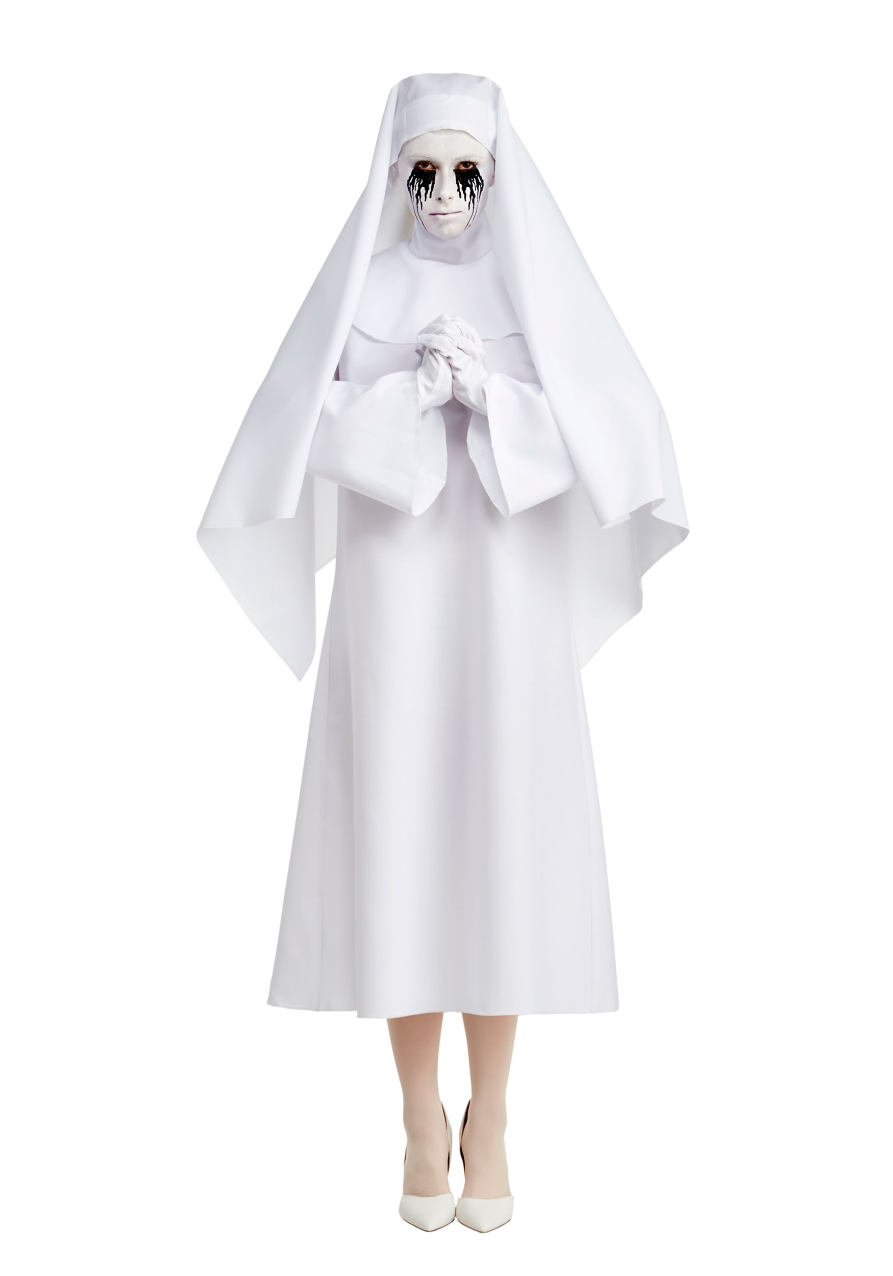 INOpets.com Anything for Pets Parents & Their Pets American Horror Story The White Nun Deluxe Costume for Women